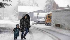 School Snow Days a Challenge for Low Income Working Parents in America