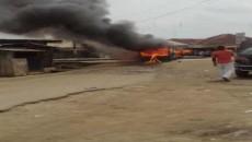 violence erupts in Eleme