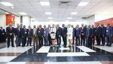 Board Chairmen from the 18 subsidiaries in Africa and members of Executive Management