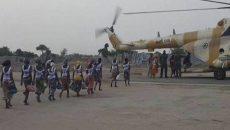 Released Chibok Girls Photo