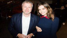 Abramovich and Dasha Photo