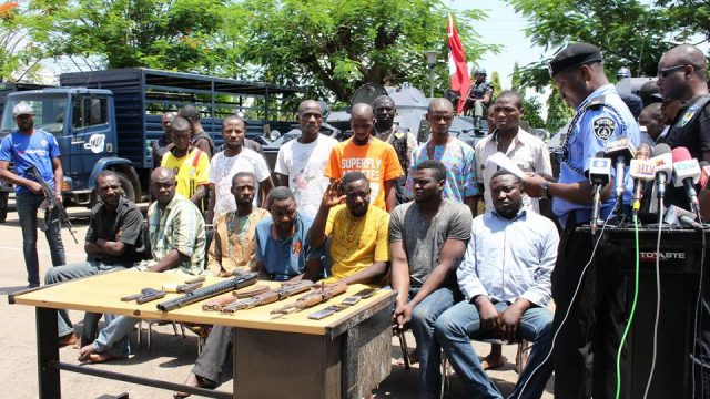Offa Bank Robbery Photo
