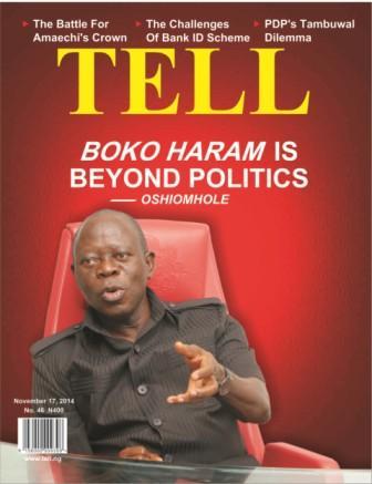 Boko Haram Is Beyond Politics – Oshiomole