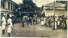 Amalgamation Day Celebration in Lagos 1914