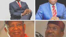 Pius Odubu, Osagie Ize-Iyamu, Chris Ogiemwonyi, and Charles Airhiavbere,