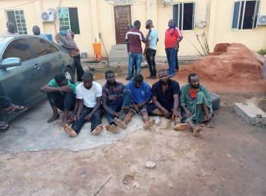Alleged killers of Osobase Omo Iyoha Photo