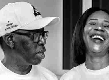 Ifeanyi Okowa, his wife Photo