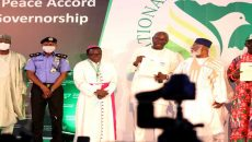 The Signing of the Peace Accord, by Edo State Governorship Candidate