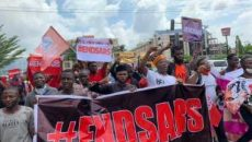 End SARS Protesters in Lagos State Photo