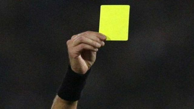 Yellow Card Photo