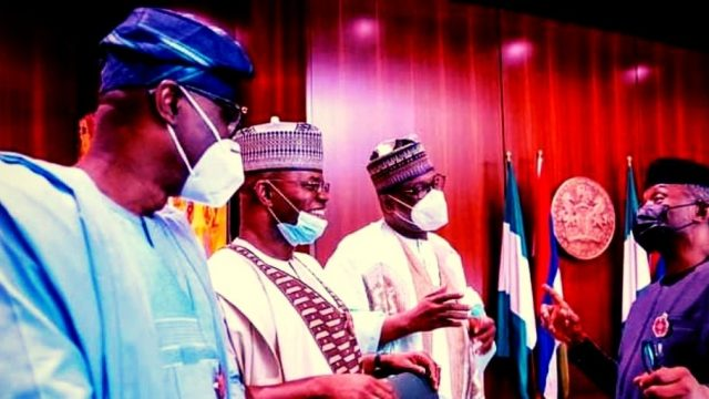 Yemi Oshinbajo, YahayaBello, Babajide Sanwo-Olu