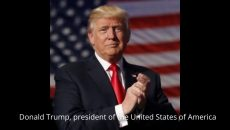 Donald Trump, president of the United States of America Photo