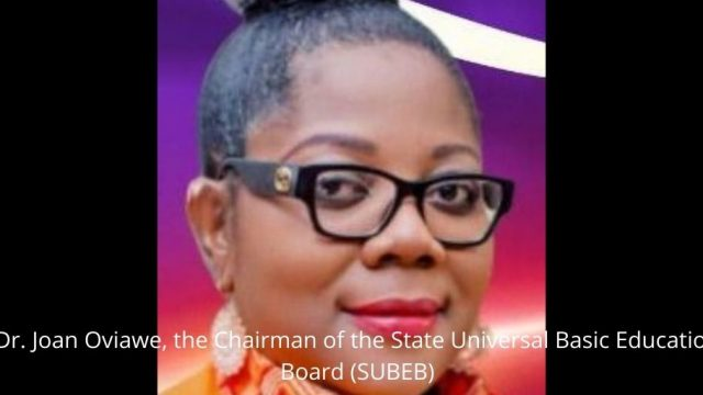 Dr. Joan Oviawe, the Chairman of the State Universal Basic Education Board (SUBEB) Photo