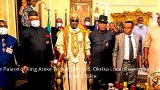 The Palace of King Ateke Tomat Okochiri, Okrika Local Government Area of Rivers State. Photo