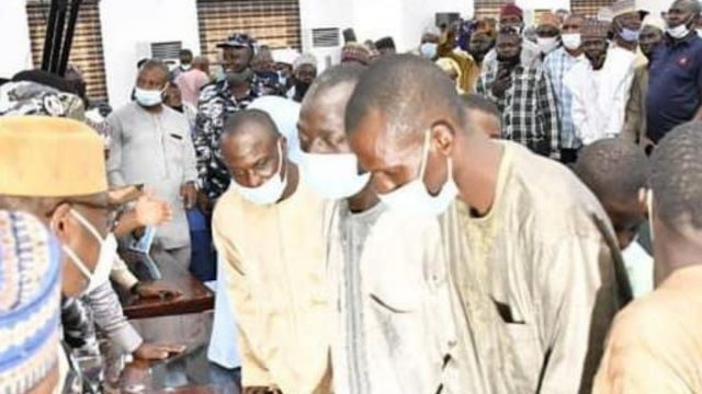 the release of the 42 Kagara, Niger State abductees