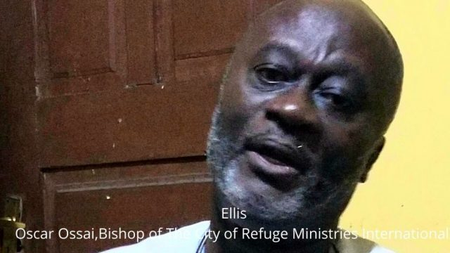 Ellis Oscar Ossai,Bishop of The City of Refuge Ministries International