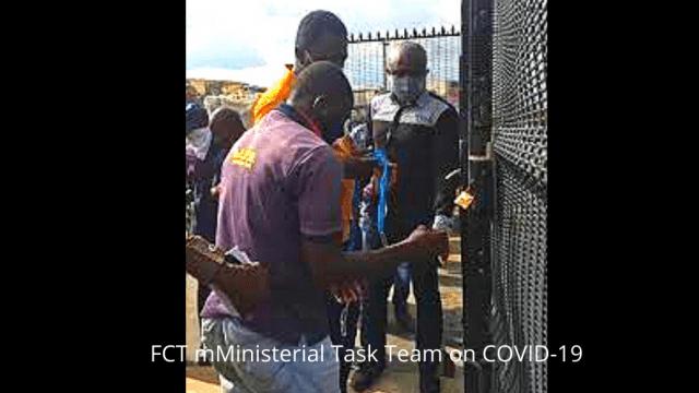 FCT mMinisterial Task Team on COVID-19 Photo