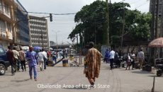 Obalende Area of Lagos State Photo