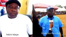 Yekini Idaiye and Nosayaba Okunbor Photo