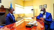 Ifeanyi Okowa and Godwin Obaseki Photo