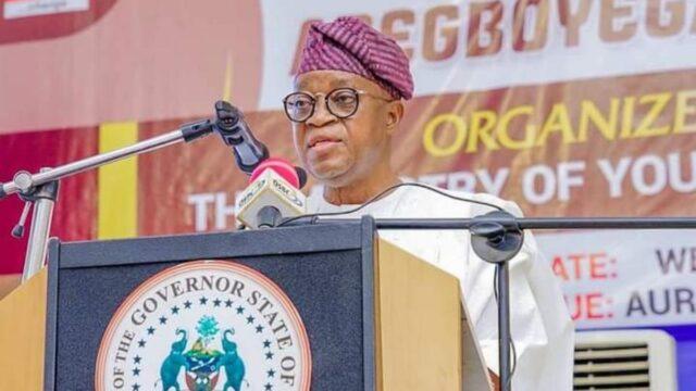 Adegboyega Oyetola, Osun state Governor