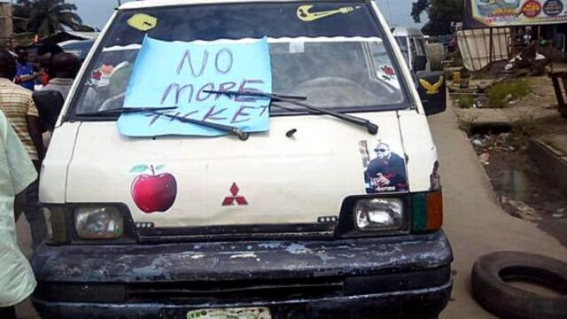 Traffic in PH as Drivers Protest Multiple Taxes