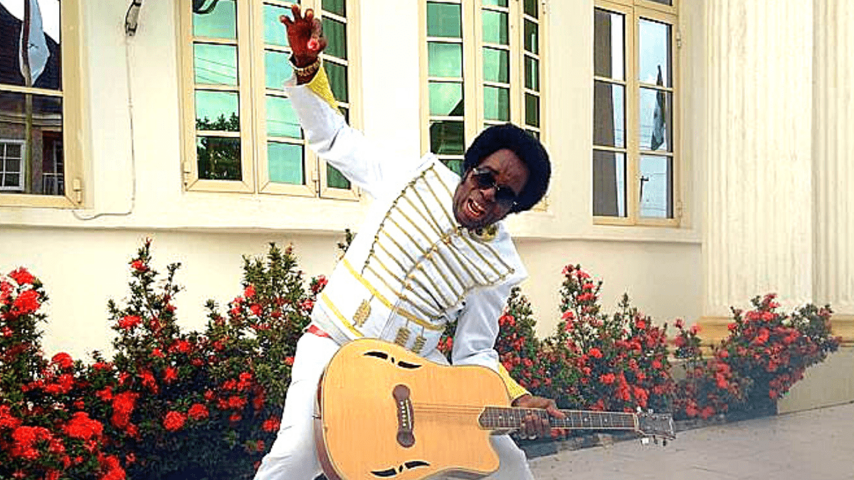 Sir Victor Uwaifo, aka Guitar Boy,