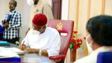 Wike Signs VAT Law Photo
