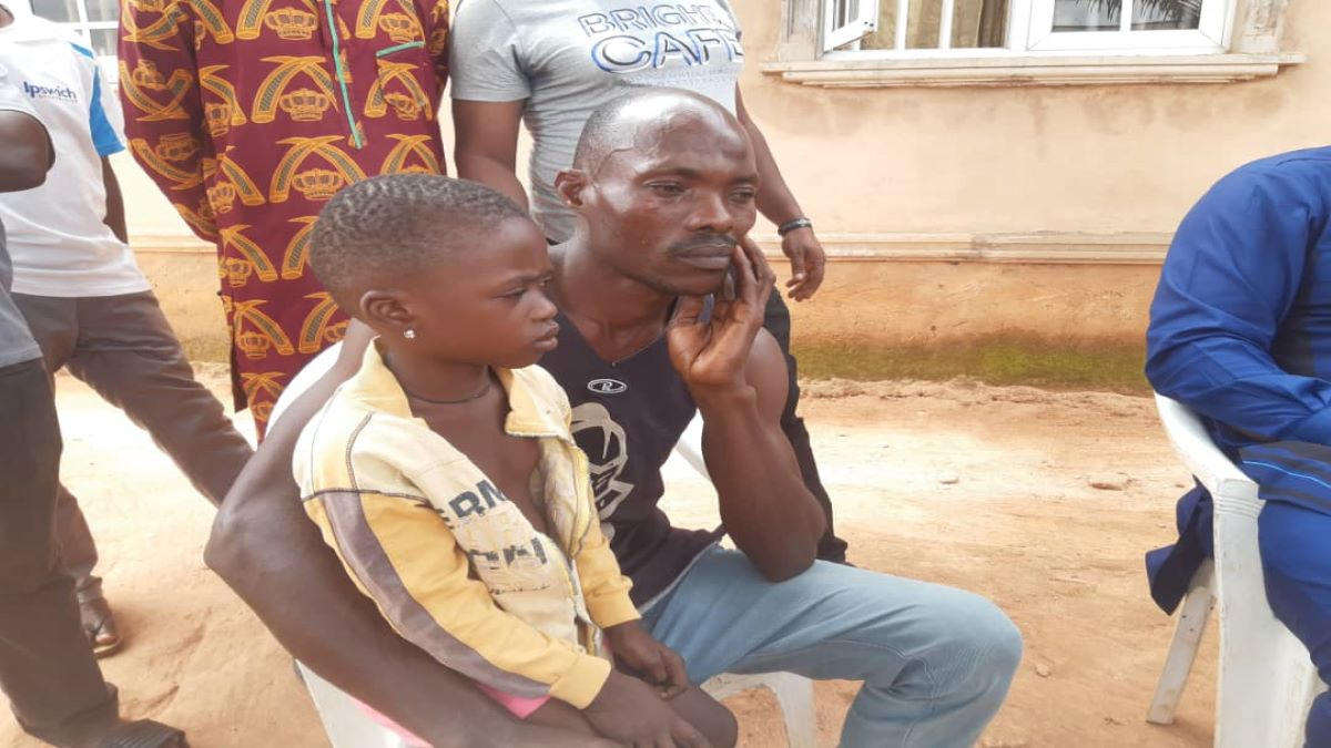 Frank Akpoguma, father of Amenze's Children