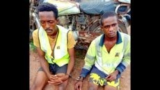 The kidnap suspects Photo
