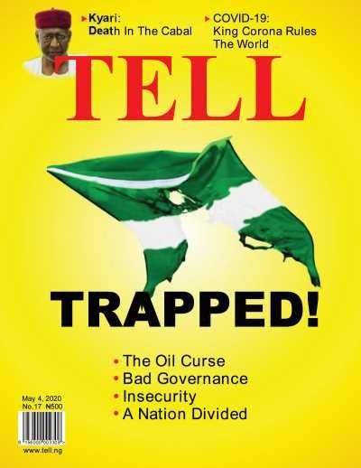 Tell Magazine Cover Design May 4 2020 Photo